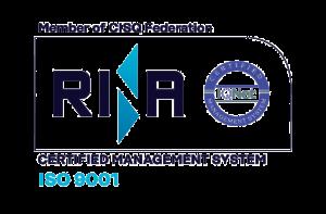 Cavioni Fustitalia - certificazione rina ISO 9001