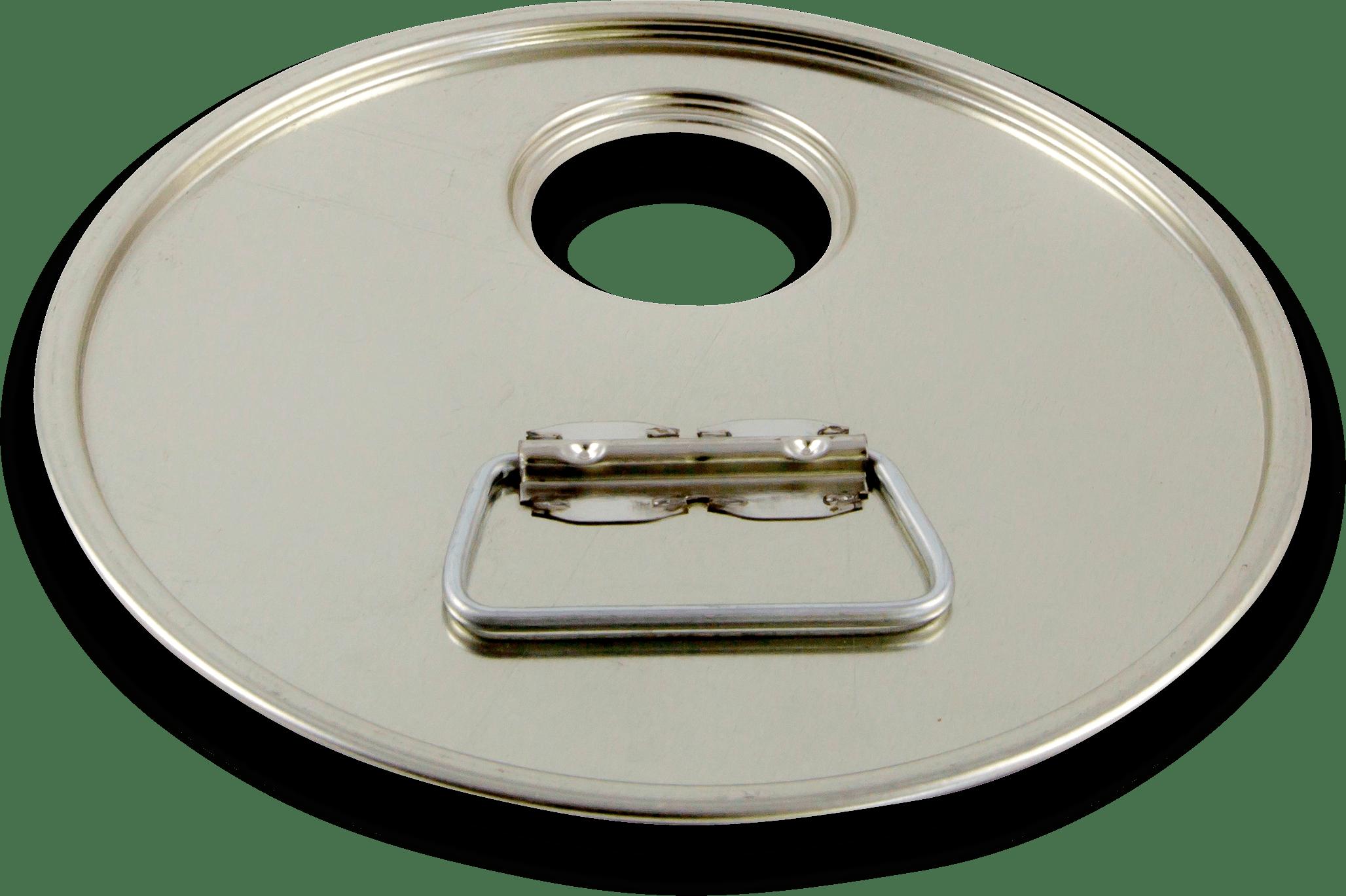 Coperchio foro 42,3 decentrato prodotto da Cavioni Fustitalia