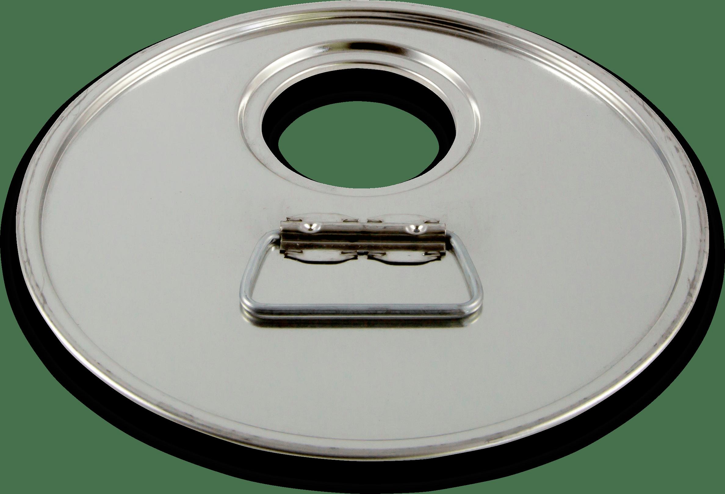 Coperchio foro 56,9 centrato prodotto da Cavioni Fustitalia