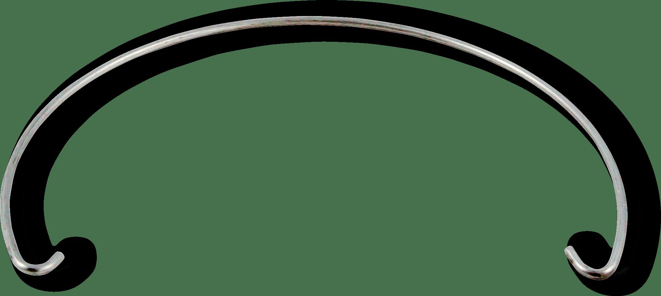 Manico ad arco metallico prodotto da Cavioni Fustitalia