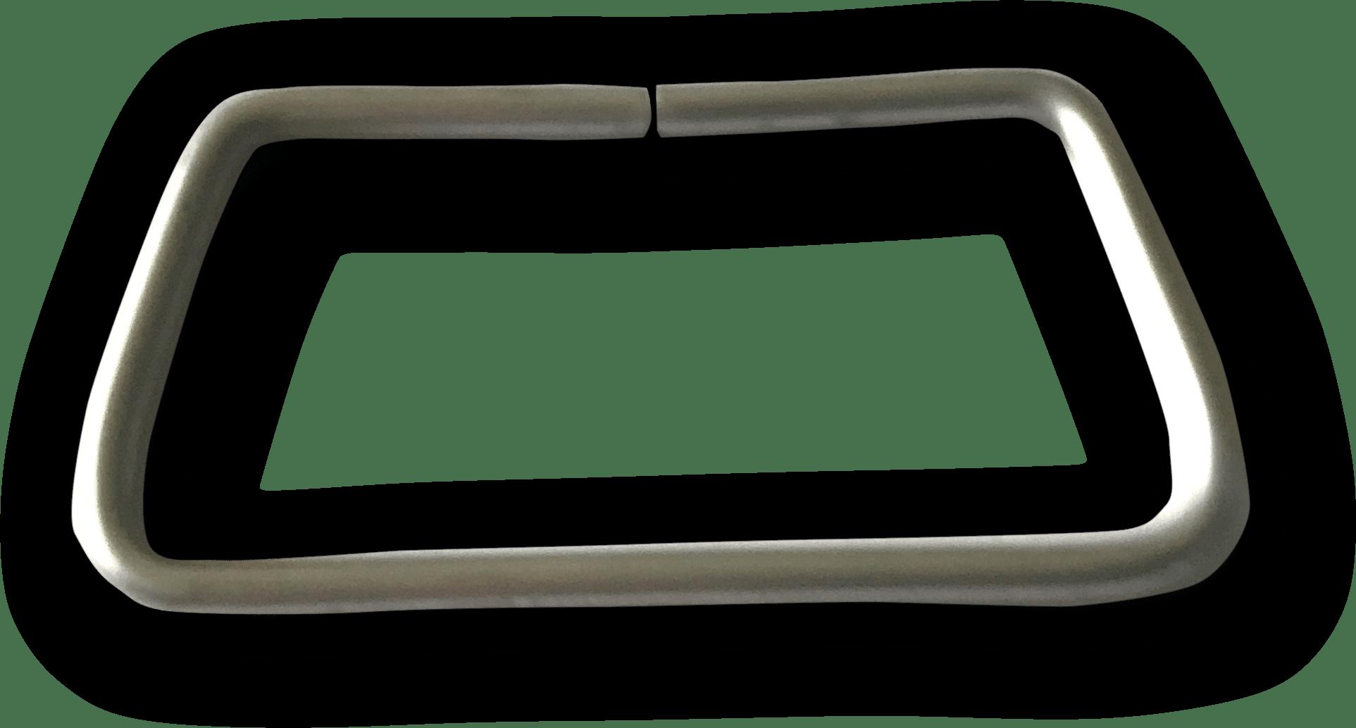 Maniglia metallica sul coperchio prodotto da Cavioni Fustitalia
